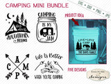 Camping Mini Bundle - SVG
