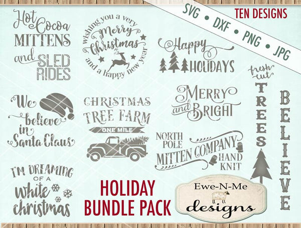 Christmas Bundle Pack - SVG