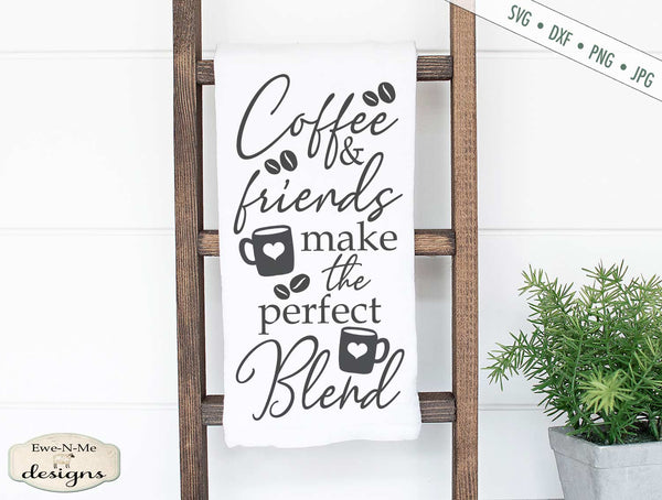 Coffee Friends Perfect Blend - SVG