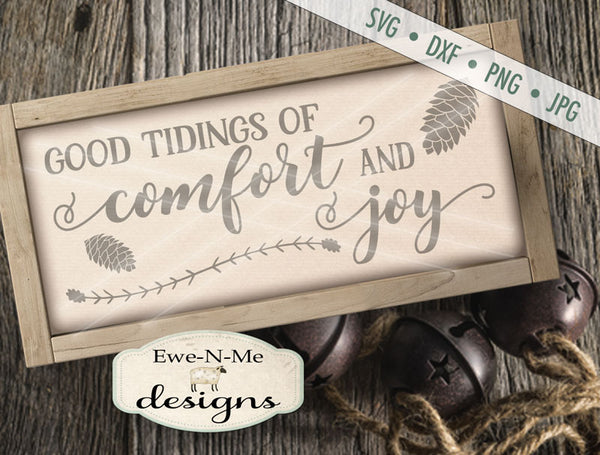 Comfort and Joy - SVG