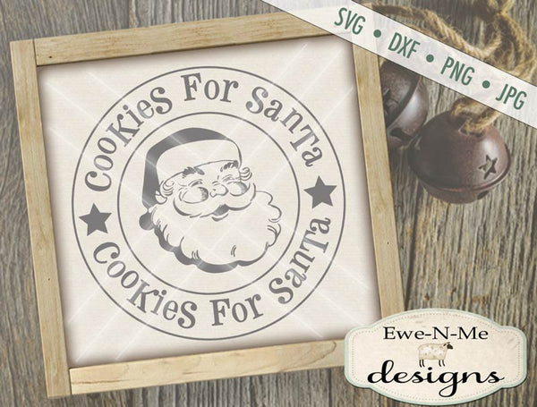 Cookies For Santa - SVG