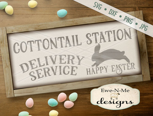 Cottontail Delivery - SVG