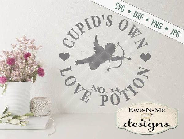 Cupid's Love Potion - SVG