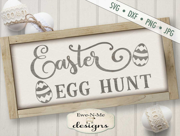 Easter Egg Hunt - SVG