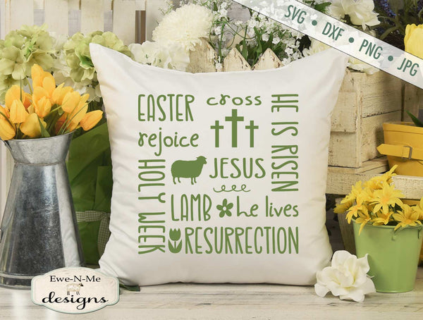 Easter Subway - Jesus - He Is Risen - SVG