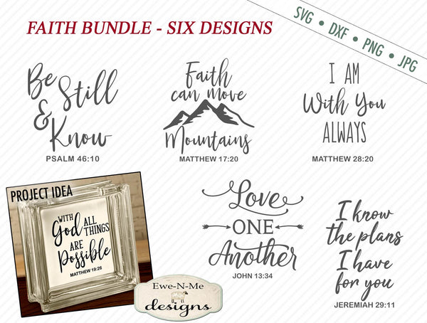 Faith Bundle - SVG
