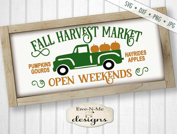 Fall Harvest Market - SVG