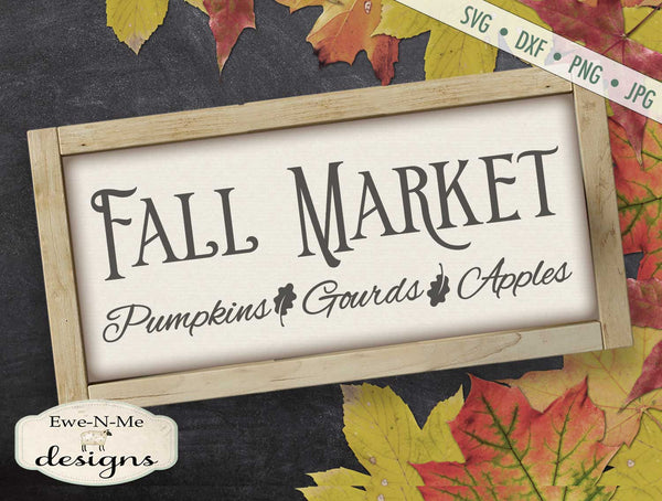 Fall Market - SVG