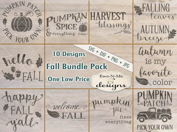 Fall Bundle Pack - SVG