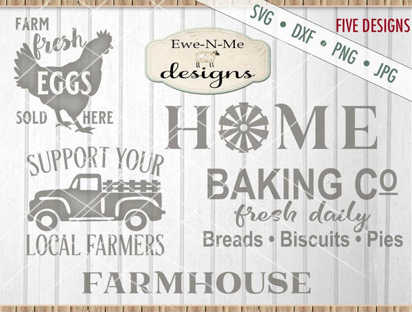Farmhouse Bundle Pack - SVG