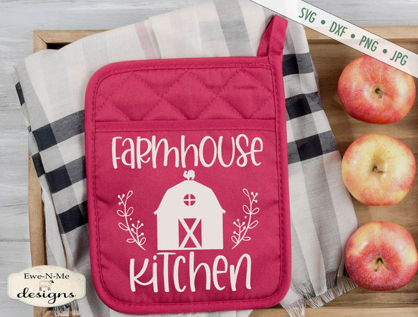 Farmhouse Kitchen - Barn - SVG