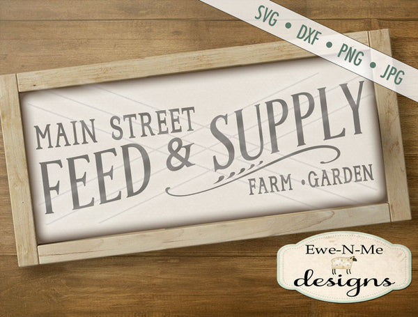 Feed and Supply - SVG