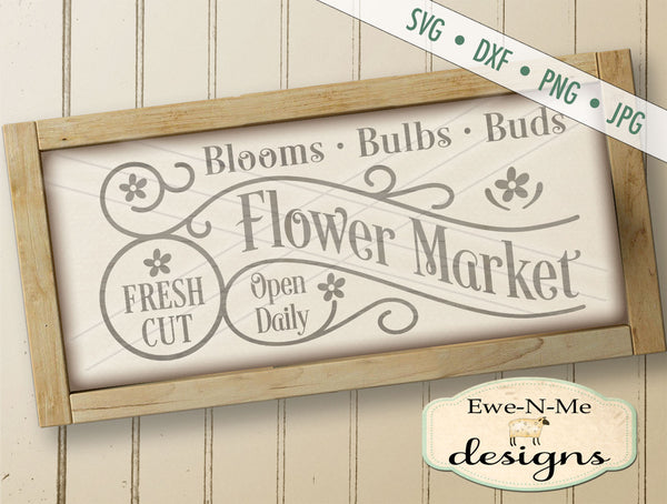 Fresh Cut Flower Market - SVG