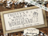 Frostys Winter Wonderland - SVG