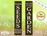 Garden Seeds Vertical - SVG