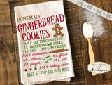 Gingerbread Cookie Recipe - Kitchen - SVG