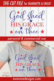 God Shed His Grace - SVG