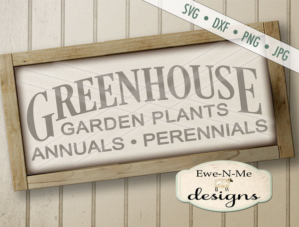 Greenhouse - SVG