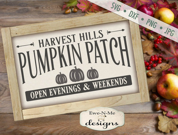 Harvest Hills Pumpkin Patch - SVG
