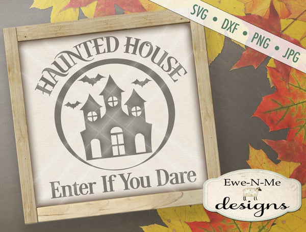 Haunted House - SVG