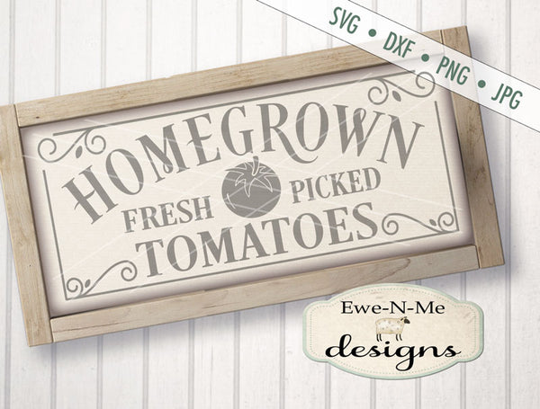 Homegrown Tomatoes - SVG