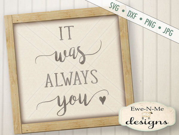 Always You - SVG