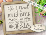 Jelly Beans and Jesus - SVG