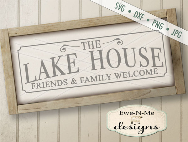 Lake House - SVG