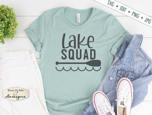 Lake Squad - Summer - SVG