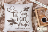 Let Your Light Shine - SVG