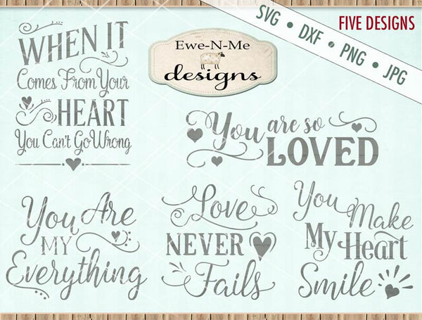 Love Bundle Pack - SVG