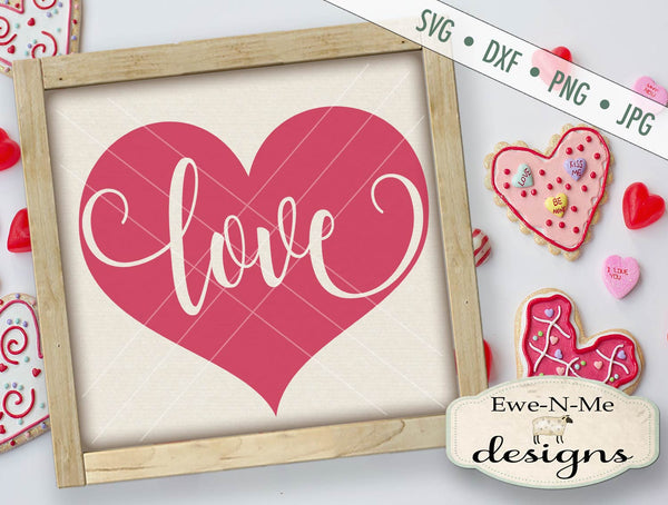 Heart Love - SVG