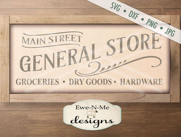 Main Street General Store - SVG