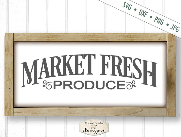 Market Fresh Produce - SVG