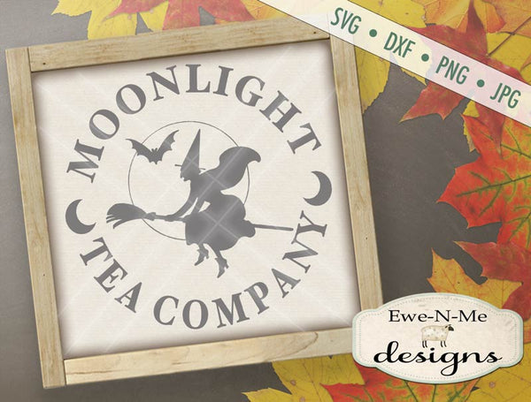 Moonlight Tea Company - SVG