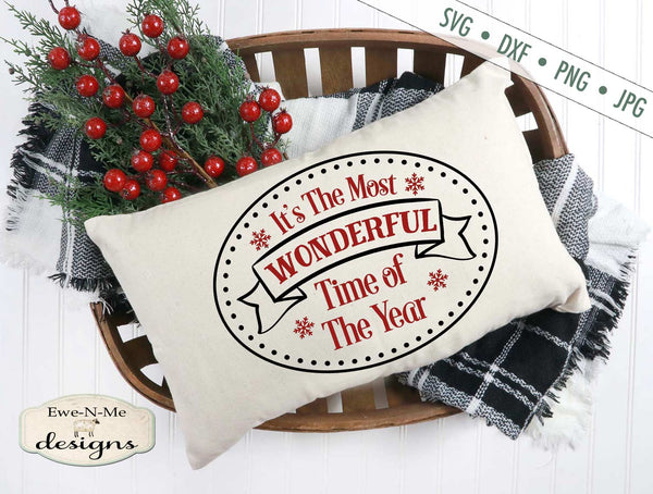 Most Wonderful Time of the Year - SVG