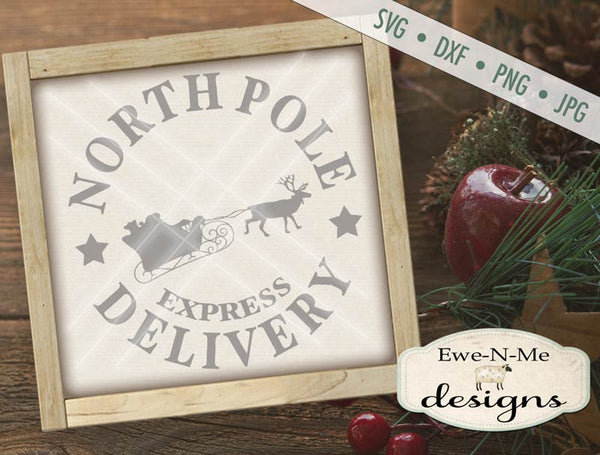 North Pole Delivery - SVG
