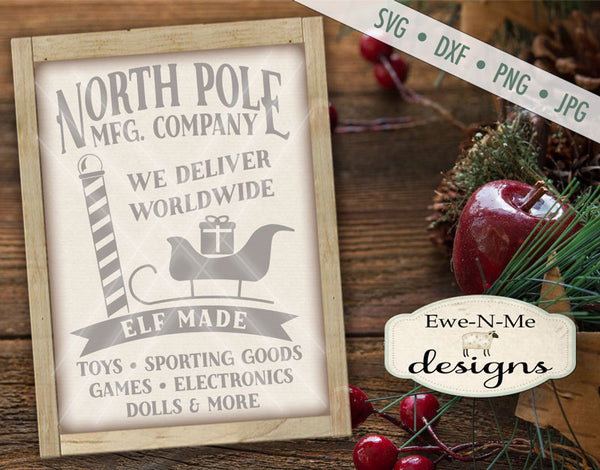 North Pole Mfg. Company - SVG