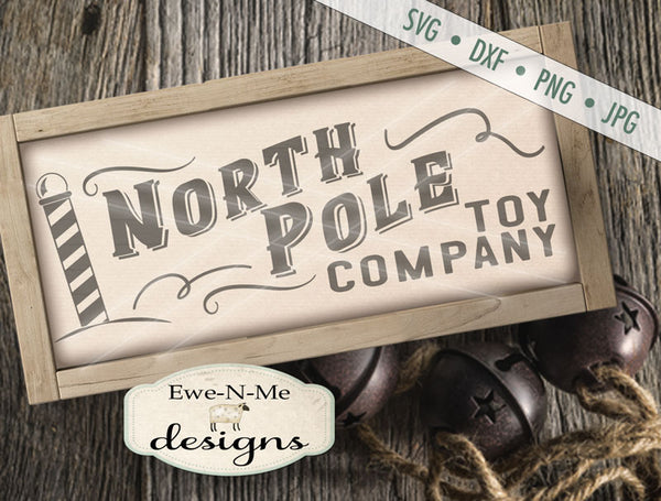 North Pole Toy Company - SVG