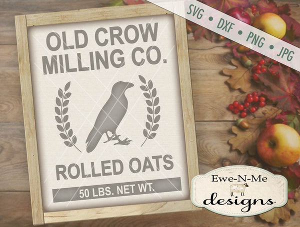 Old Crow Milling Co - SVG