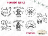 Christmas Ornament Bundle - SVG