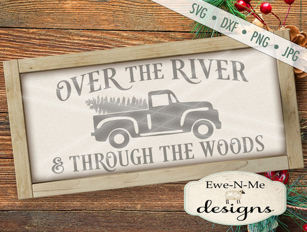 Over The River Through The Woods - SVG