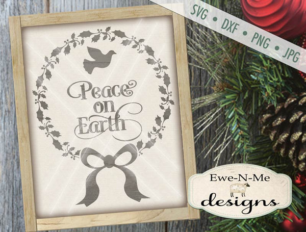 Peace on Earth - SVG