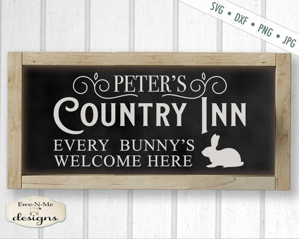 Peters Country Inn - Easter - Bunny - SVG