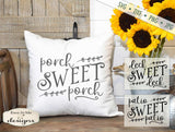 Porch Sweet Porch - Deck Patio  - SVG