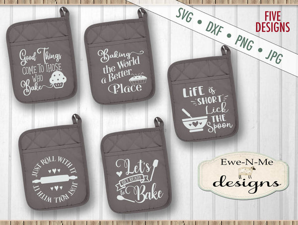 Pot Holder Bundle - SVG