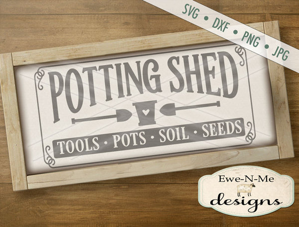 Potting Shed - SVG