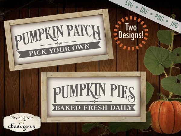 Pumpkin Patch - Pumpkin Pie SVG