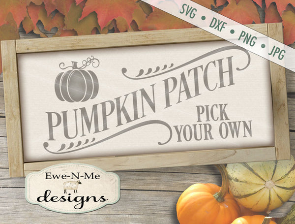 Pumpkin Patch - SVG