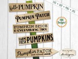 Pumpkin Sign Makers Bundle - SVG